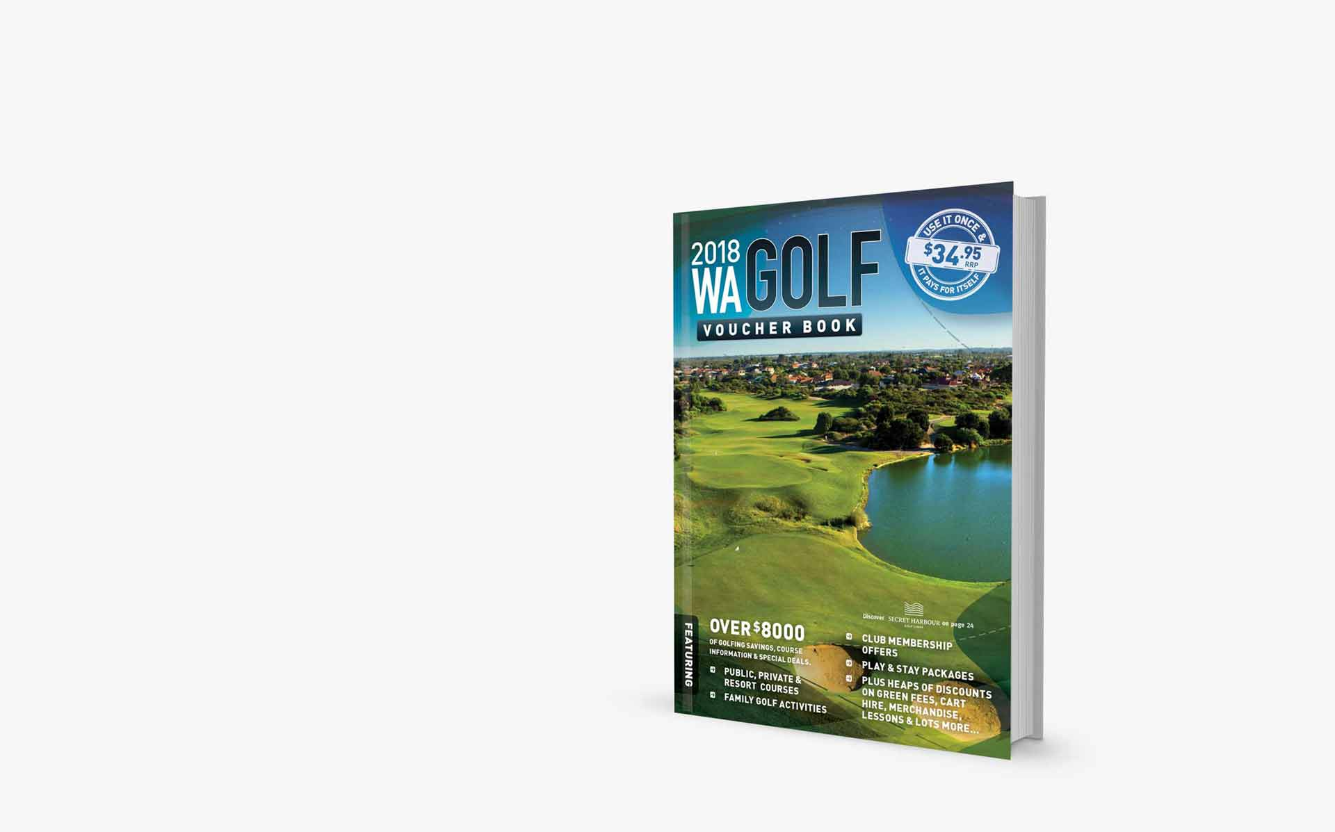WA Golf <br>Voucher Book